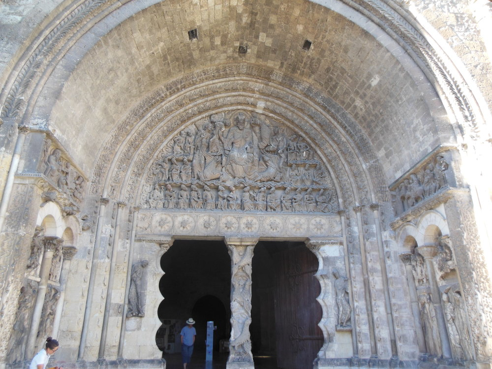 South-west portico of St. Pierre, Moissac, Camino de Santiago,  ©  Anabel Roque Rodriguez