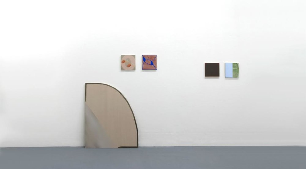 Isabelle Tondre, exhibition view, Second Degree, 2016, Akademie der Bildenden Künste Munich