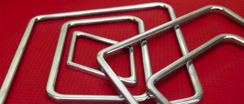 Handmade thin aluminum speaker rings