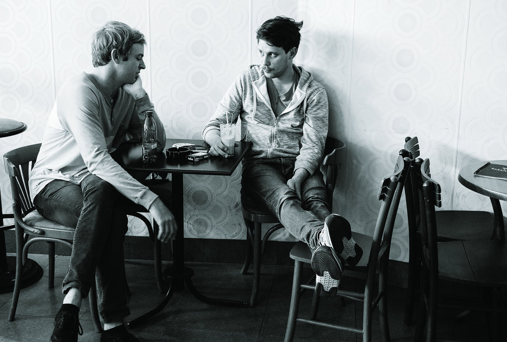 directing the talented Mladen Sovilj, on set in Serbia. 2015.