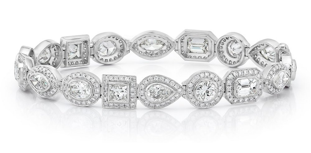 Platinum.Mix-Cut-Diamond-Halo-Bracelet.jpg
