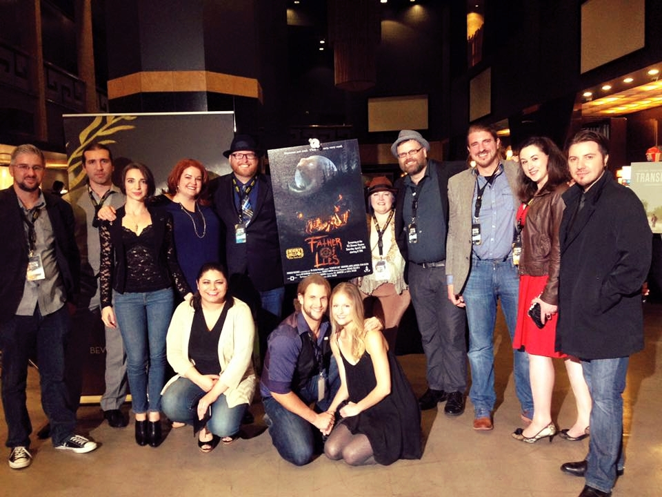 Father of Lies cast and crew at Beverly Hills Film Festival