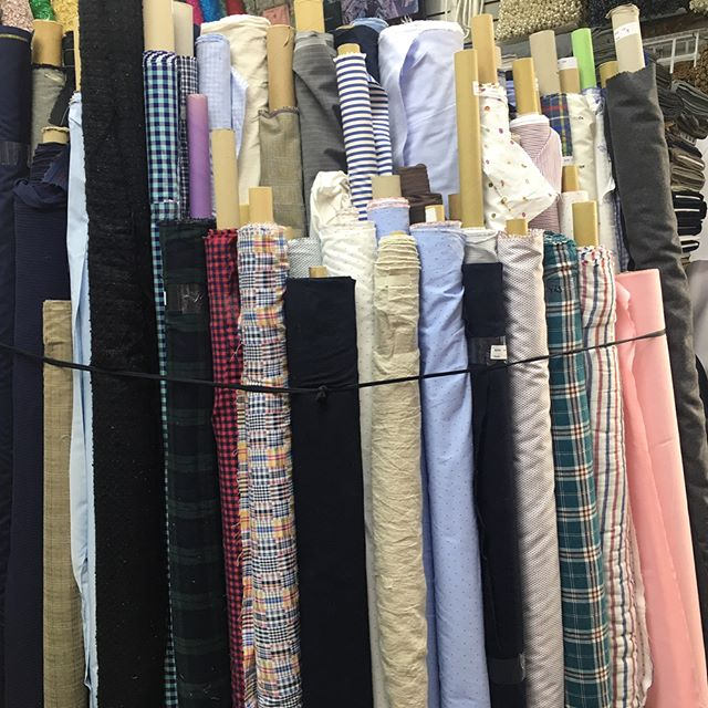 Over 200 NEW Designer Fabrics! #ebad #fabrics #ebadfabrics #linen #new #nyc #fabric #garment #garmentdistrict #dress #fashion #style #fabricstore #linens #wool #cotton #fashiongram #sew #sewing #designer #summer #sun #suit #shirt #custom #luxury #highend #silk