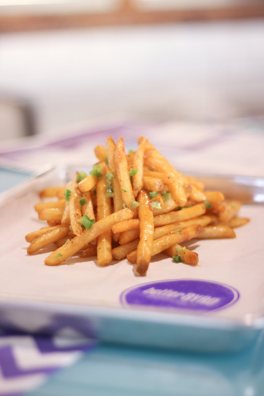 Truffle Garlic Parm Fries