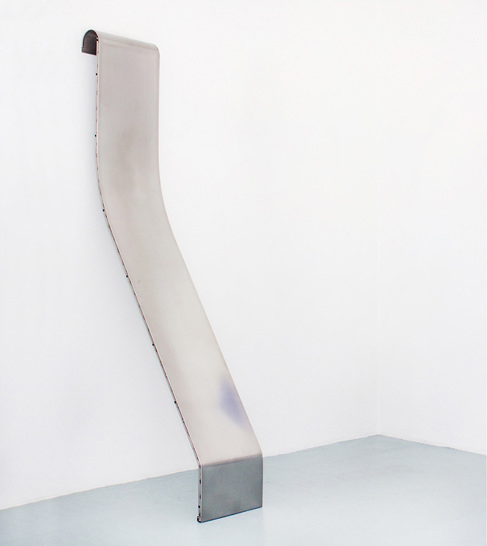 eccontemporary :     Magnus Frederik Clausen, Untitled (Gæst), 2015, polished steel, 142 x 101 cm     www.magnusclausen.dk   www.m23.co