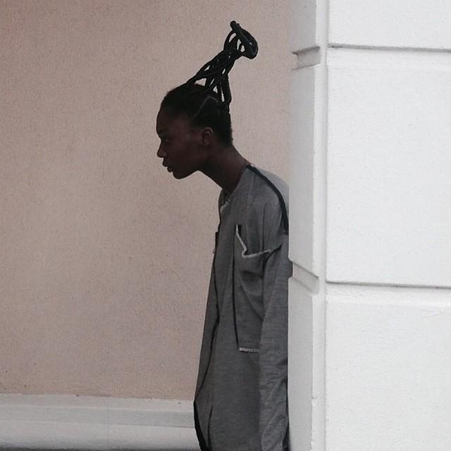 sandrafalasediary: Ponytails (cc @kennethize) #Africa #melanin #vscocam