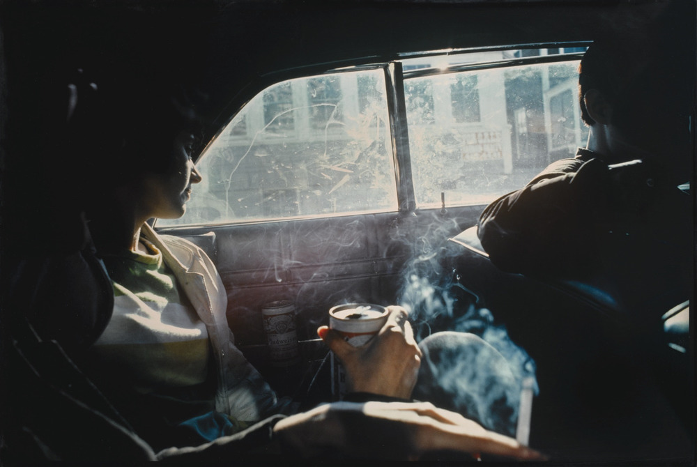 phdonohue: Smoky Car, New Hampshire, 1979 – Nan Goldin