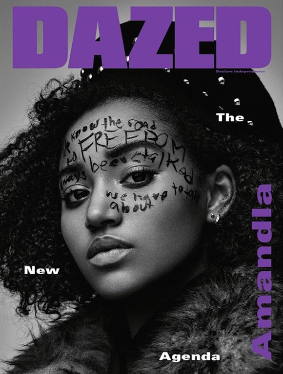 rookiemag :      Life Syllabus: Amandla Stenberg    Her favorite things to read, watch, and listen to, plus a look at the actress and activist's new  Dazed  cover.    By Amandla Stenberg.