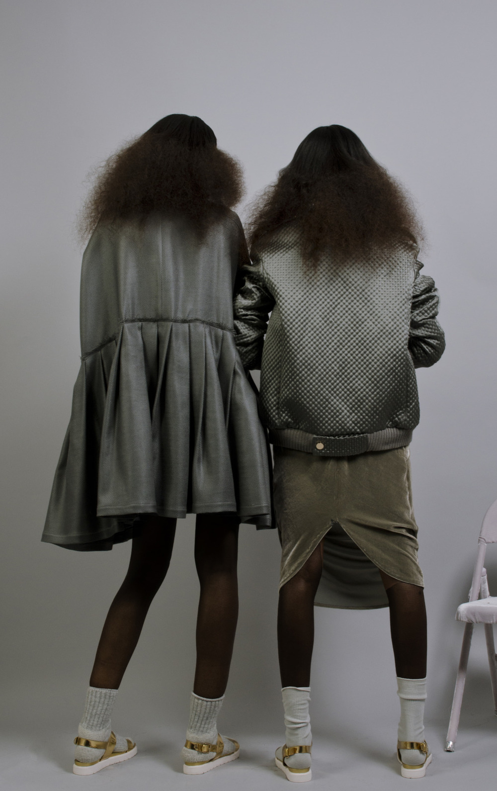 Sienna King and DJ Smith for #OMONDI FW15   #Sienna King  #rechoomondi
