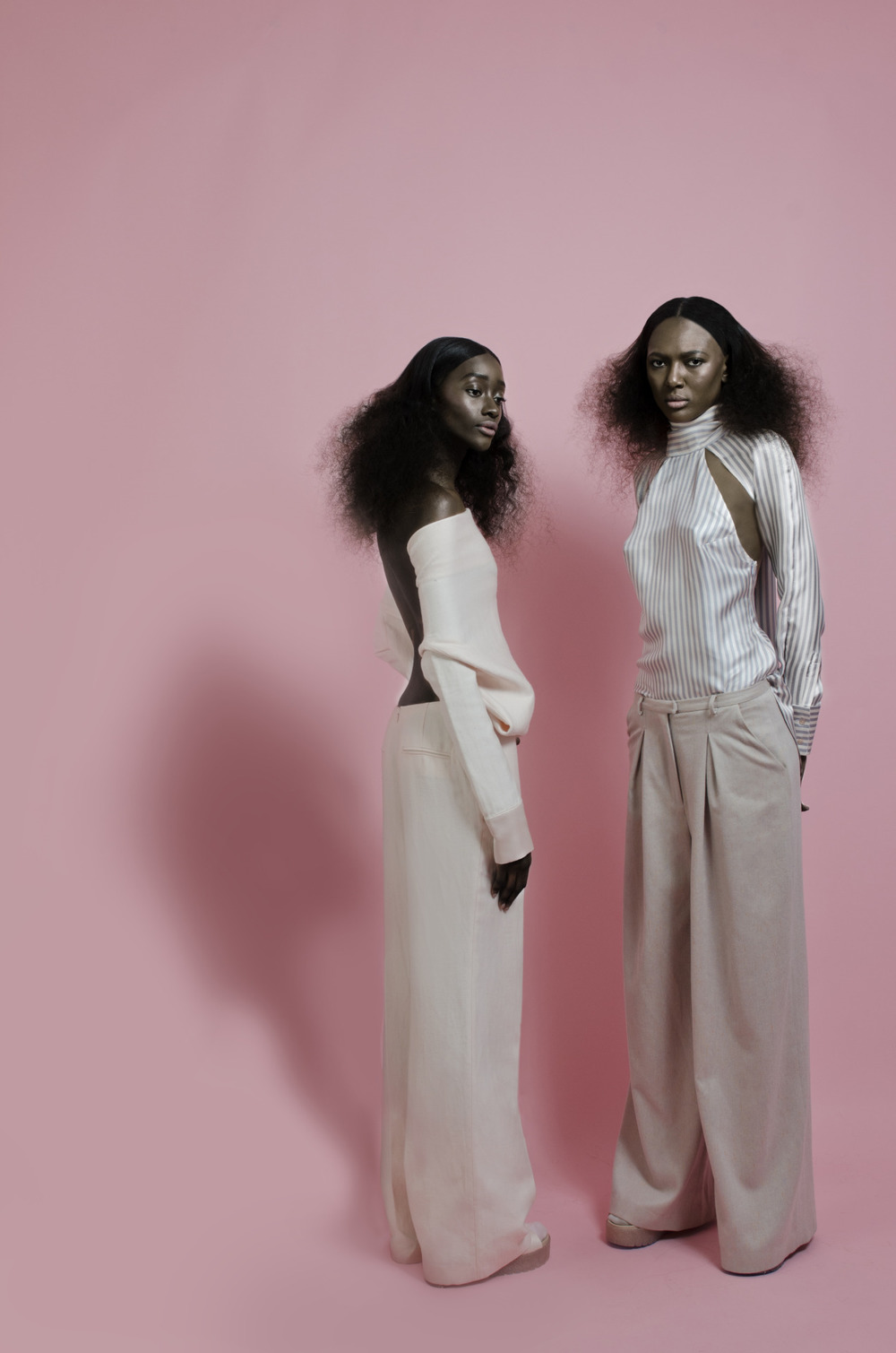 Sienna King & DJ Smith for OMONDI AW15 Shot By: Mambu Bayoh #sienna king #rechoomondi