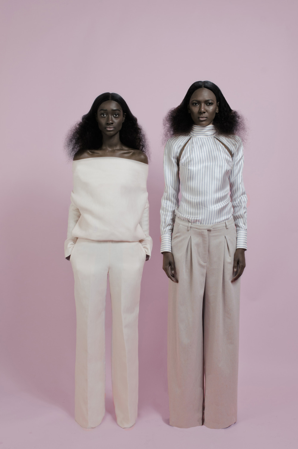 Sienna King and DJ Smith for OMONDI AW15 Shot By: Mambu Bayoh #sienna king #rechoomondi