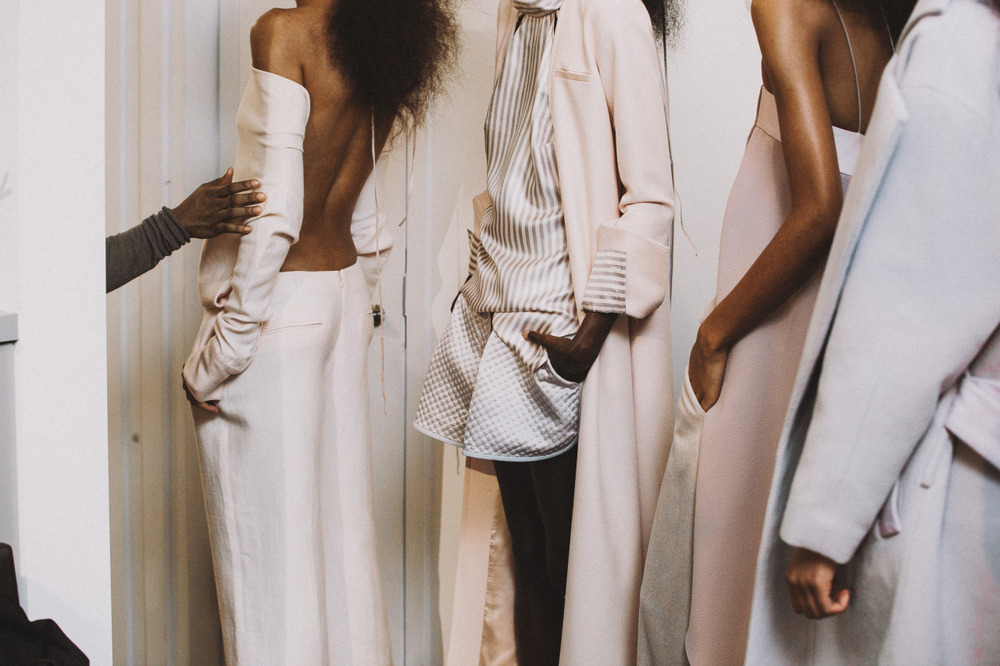 OMONDI AW15 Presentation Shot by Shanita Sims
