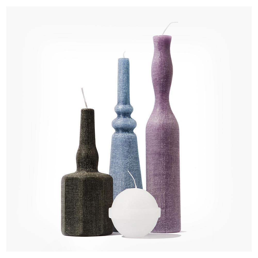 styletaboo :    Sonia Padrazzini - Le Morandine candle series