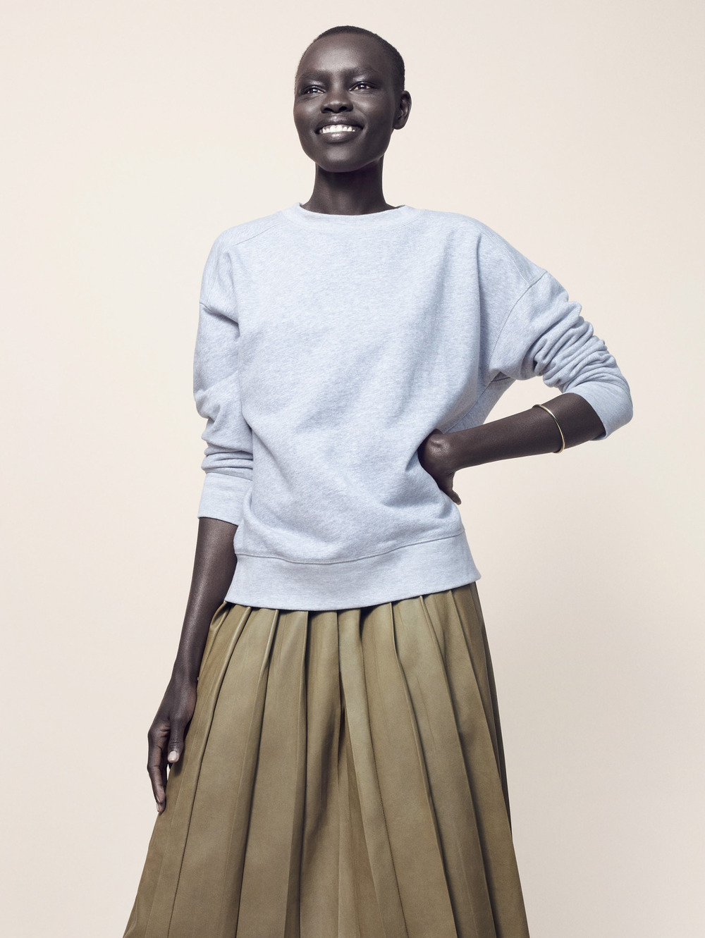"stormtrooperfashion :   Grace Bol in ""Spring Clean"" by  Jan Lehner  for   Harper's Bazaar UK ,  March 2015"