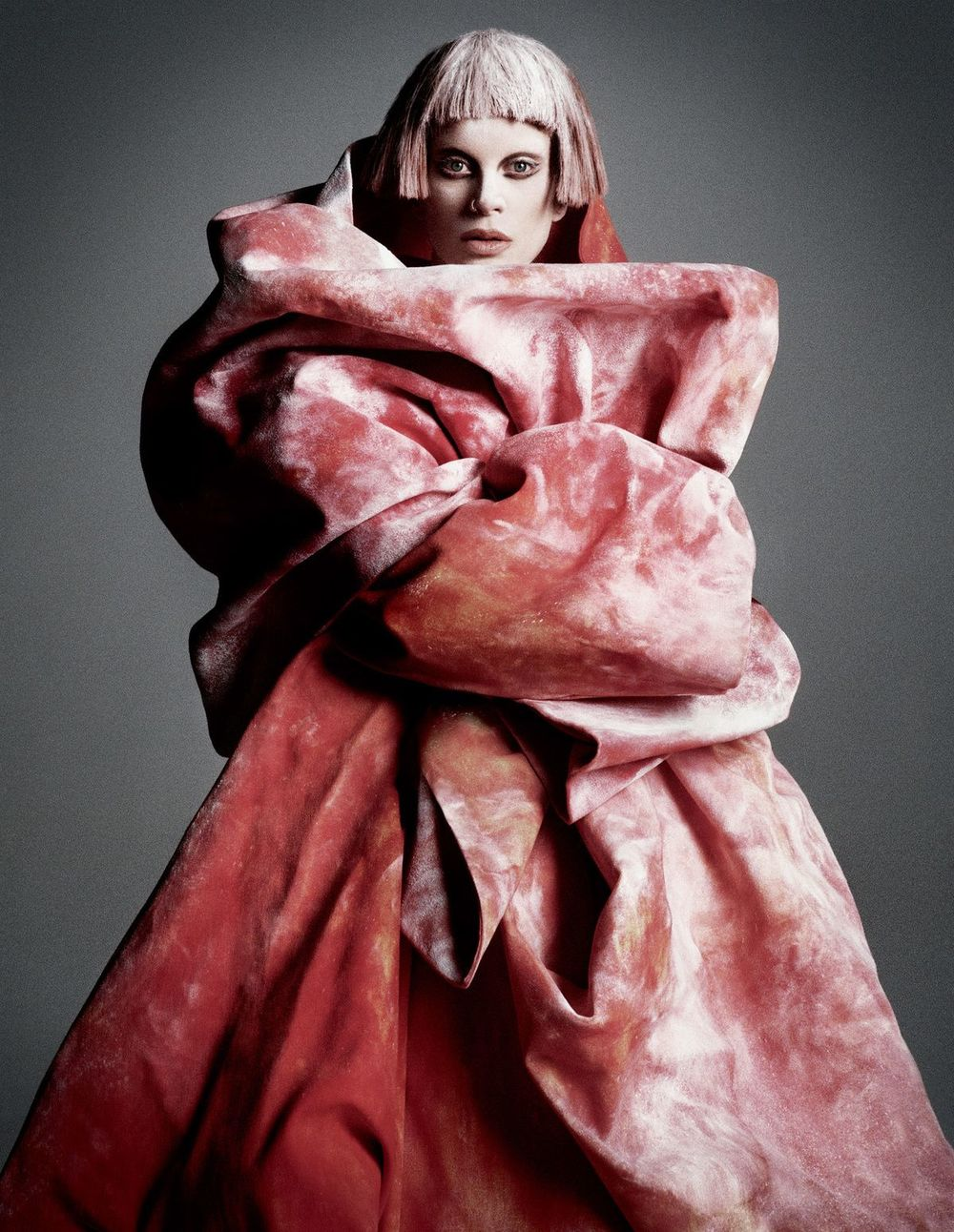 "timeless-couture :   Kristen McMenamy photographed by Daniele + Iango for i-D ""The Role Model Issue"" Fall 2012"
