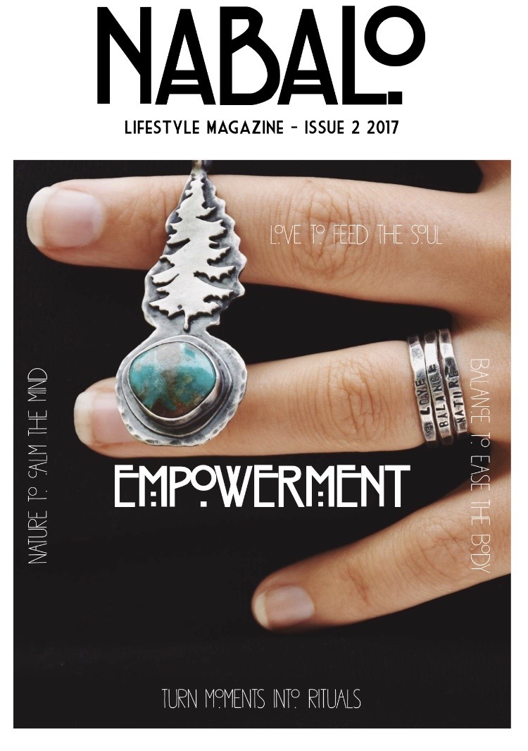 Nabalo - Issue 2 - Summer 2017  So pleased to have been featured in The online hygge lifestyle magazine this summer - I'm talking all about vaginal steaming - and you can access it  online for free
