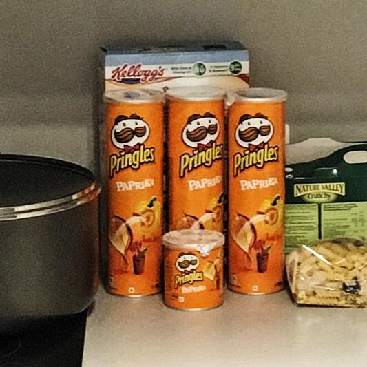 Paprika Pringles