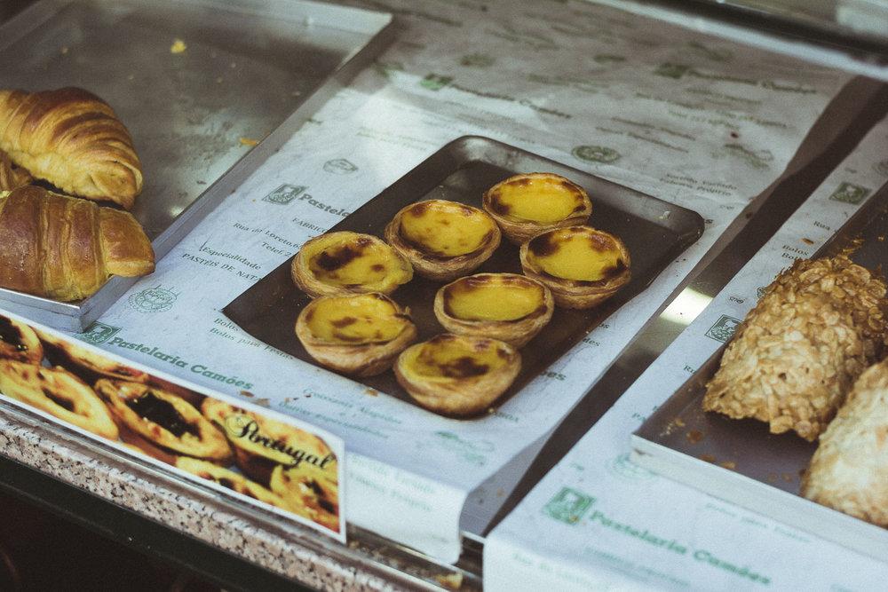 Croissant or Pastel De Nata