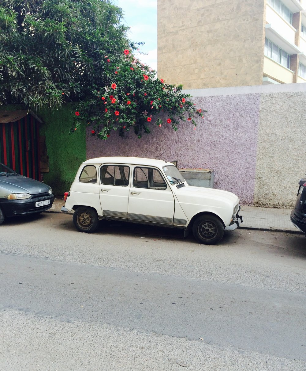 Cars of Rabat.