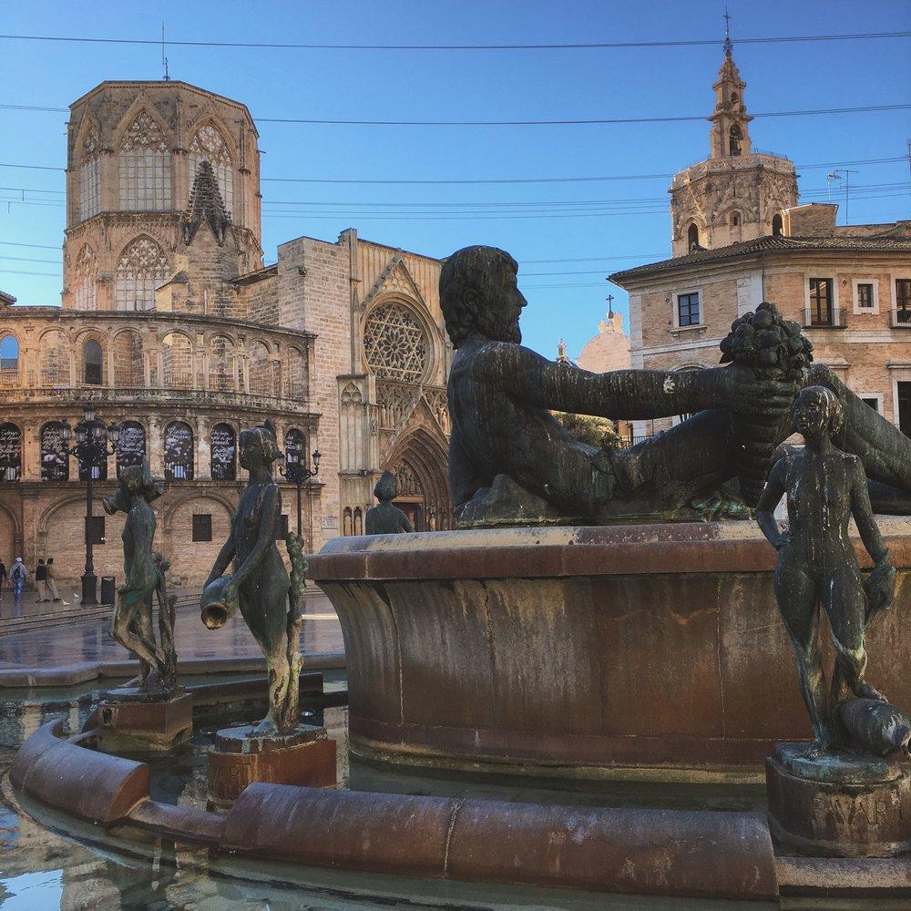 Plaza De La Vergen