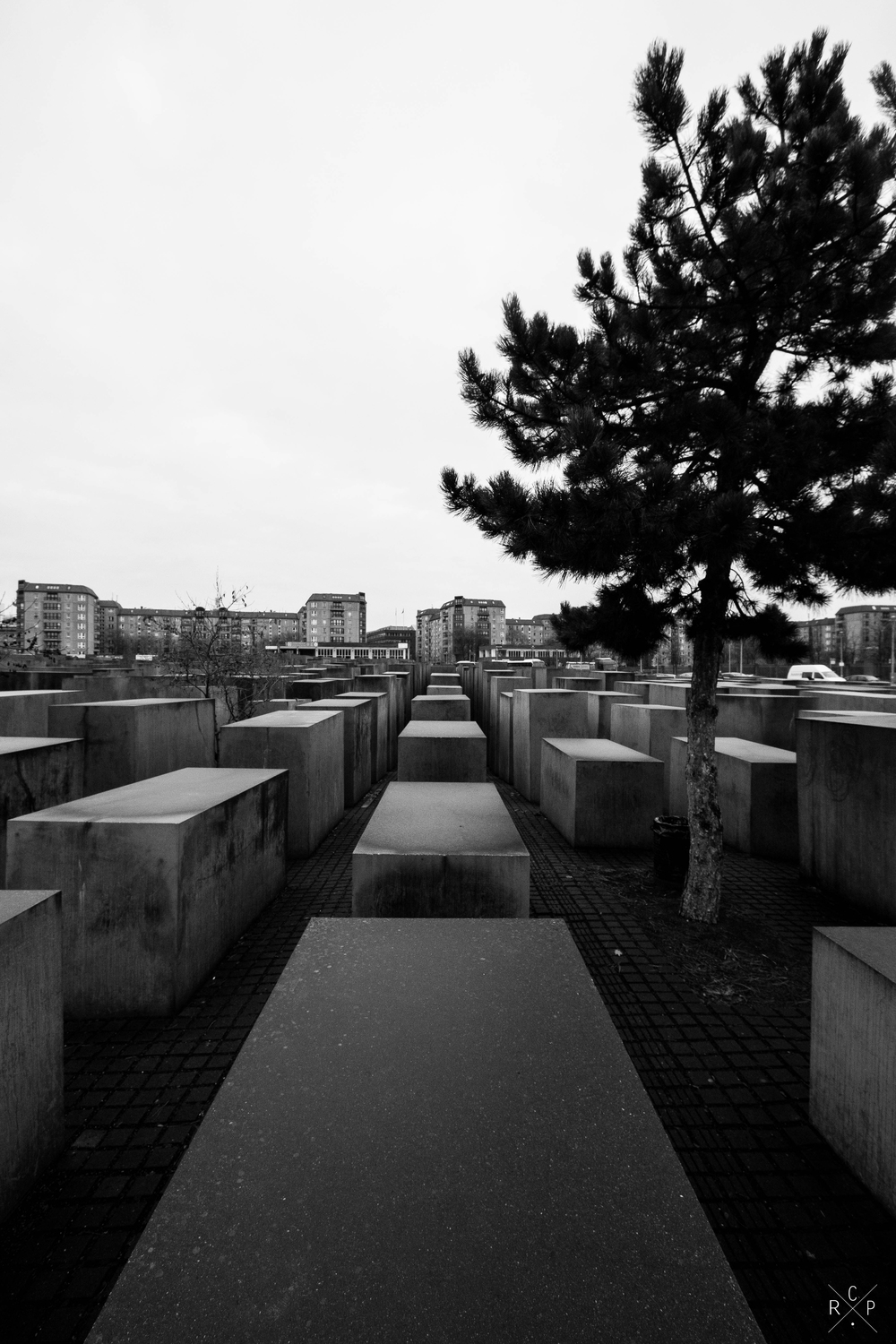 Memorial Field 1 - Memorial To The Murdered Jews Of Europe, Berlin, Germany 02/12/2015