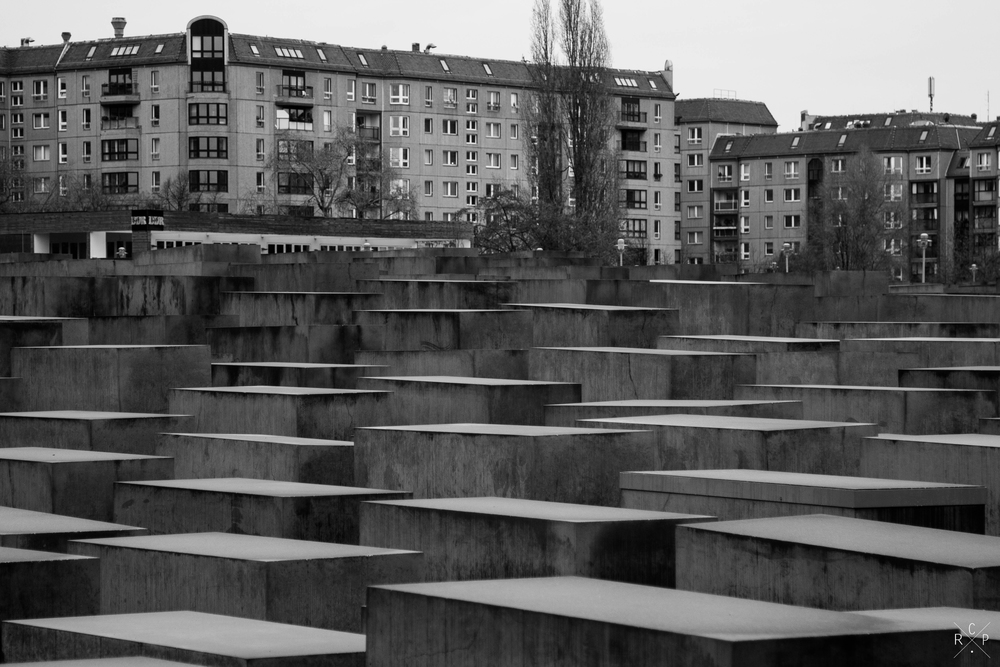 Monument Field 2 - Monument To The Murdered Jews Of Europe, Berlin, Germany 02/12/2015