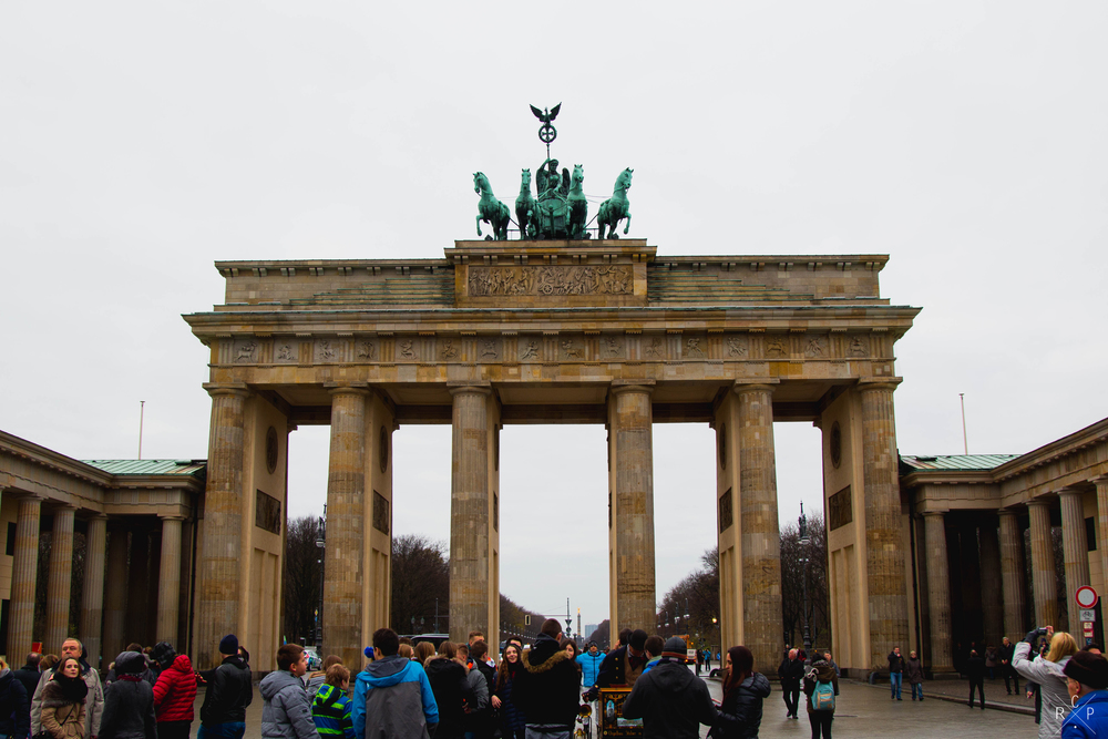 Gate - Brandenburg Gate, Berlin, Germany 02/12/2015