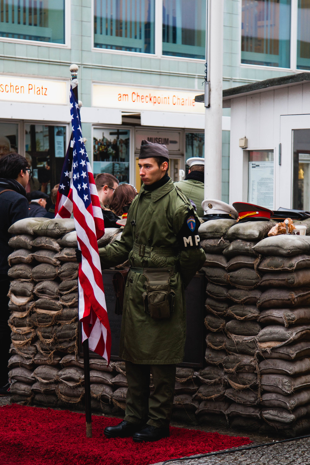 Guard - Checkpoint Charlie, Berlin, Germany 02/12/2015