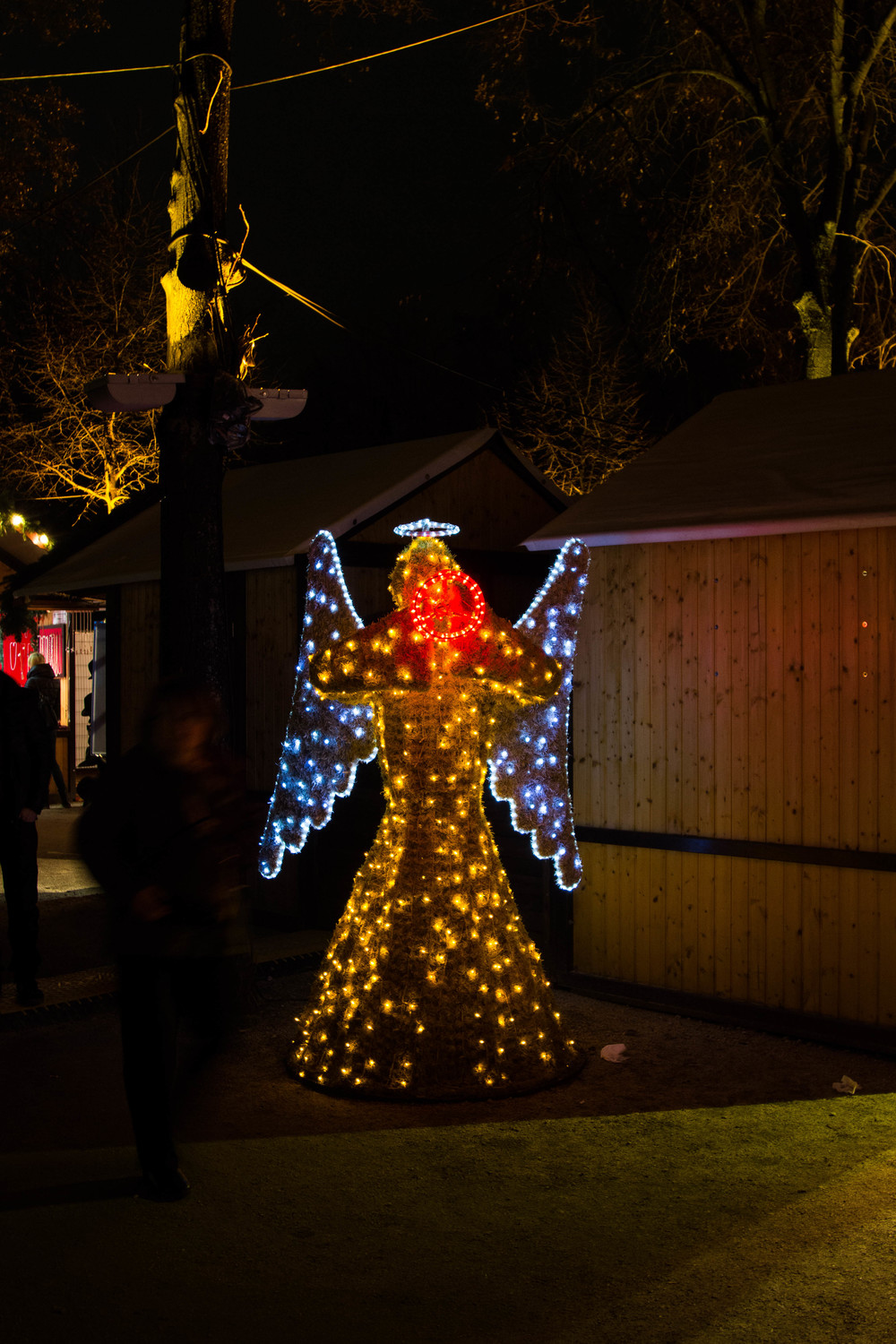 Light Angel 2 - Charlottenburg Markets, Berlin, Germany 02/12/2015