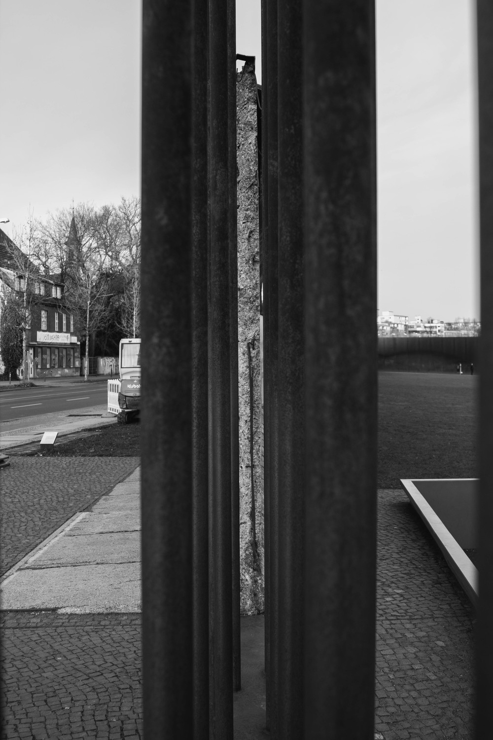 Wall Structure - Berlin Wall Memorial Site, Berlin, Germany 03/12/2015