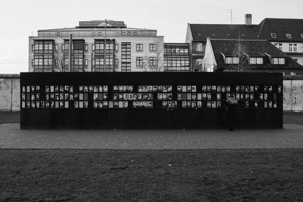 Memorial - Berlin Wall Memorial Site, Berlin, Germany 03/12/2015