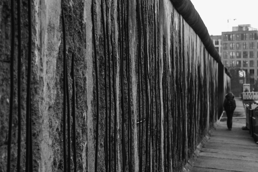 Crumbling Wall - Berlin Wall Memorial Site, Berlin, Germany 03/12/2015