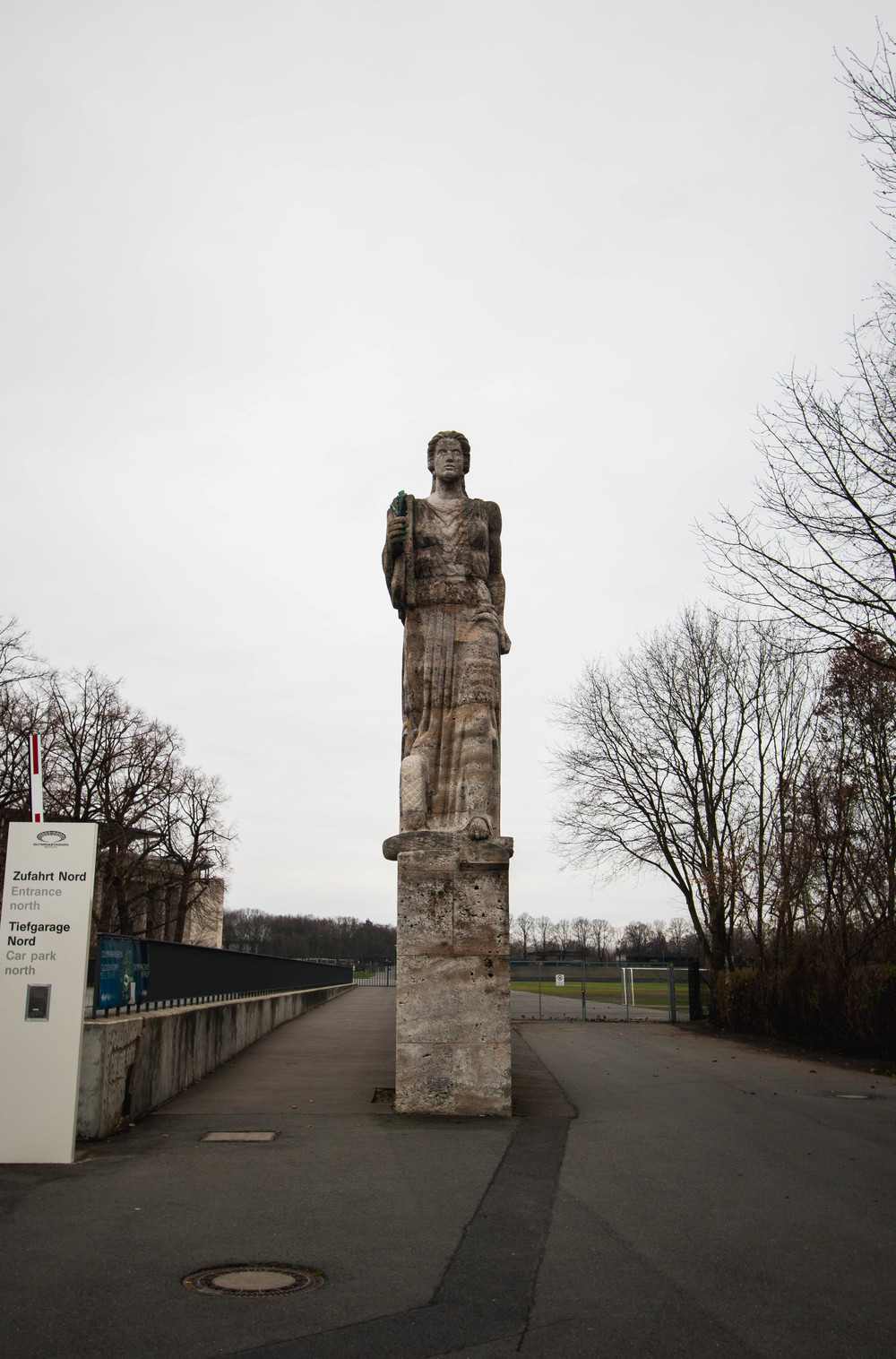 Statue - Berlin Olympic Stadium, Berlin, Germany 04/12/2015