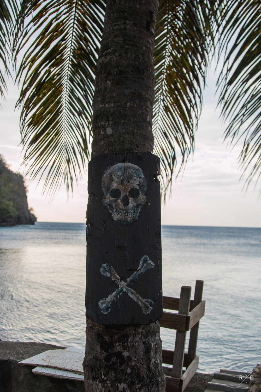 Pirate Sign - Wallilabou Bay, St. Vincent & The Grenadines 05/02/2016
