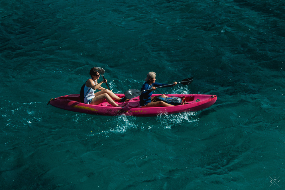 Kayakers - Fort Duvernette, St. Vincent & The Grenadines 09/02/2016