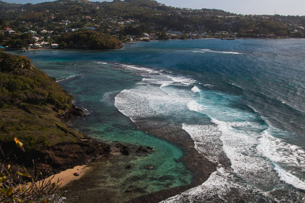 Surf Spotting - Fort Duvernette, St. Vincent & The Grenadines 09/02/2016