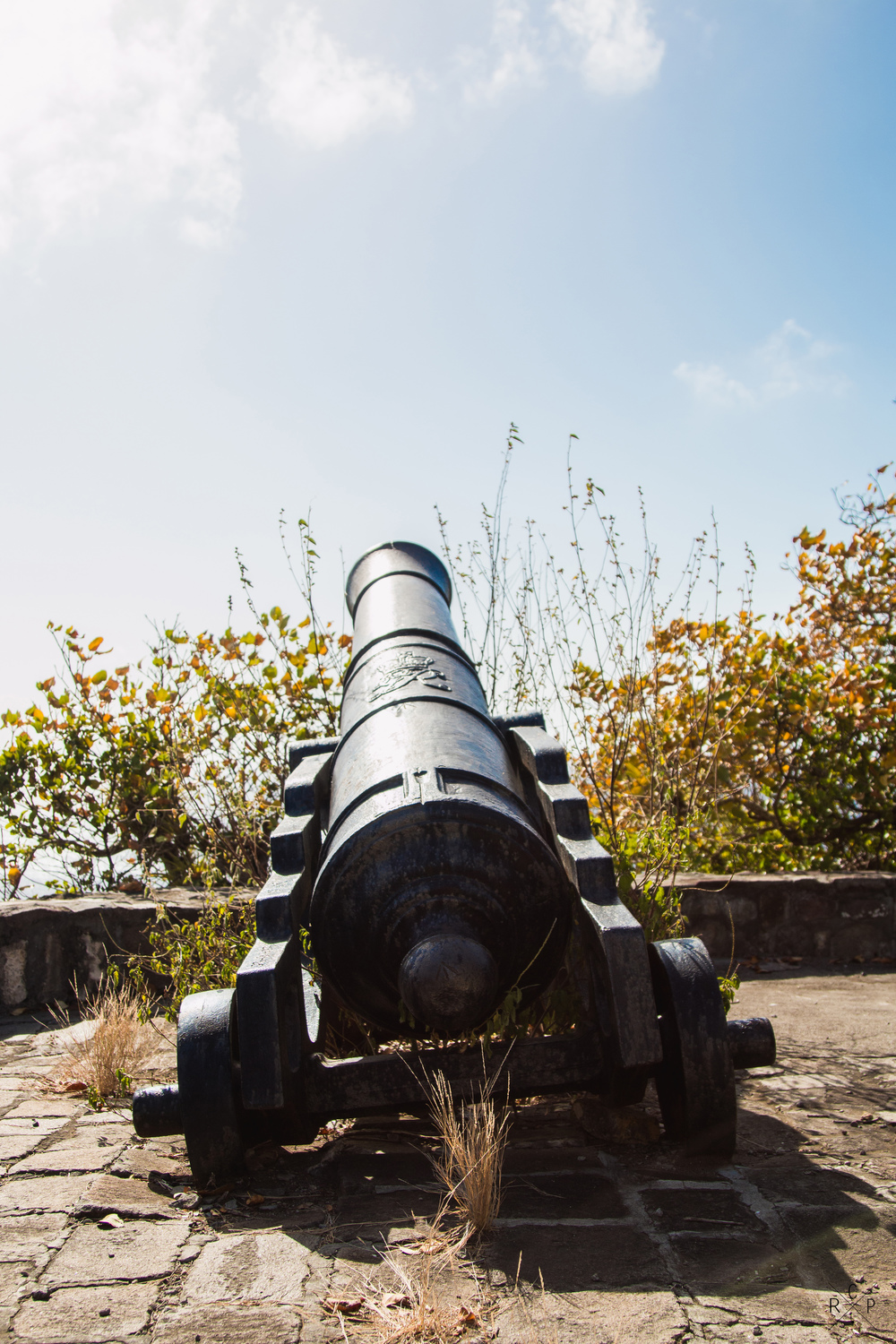 Cannon - Fort Duvernette, St. Vincent & The Grenadines 09/02/2016