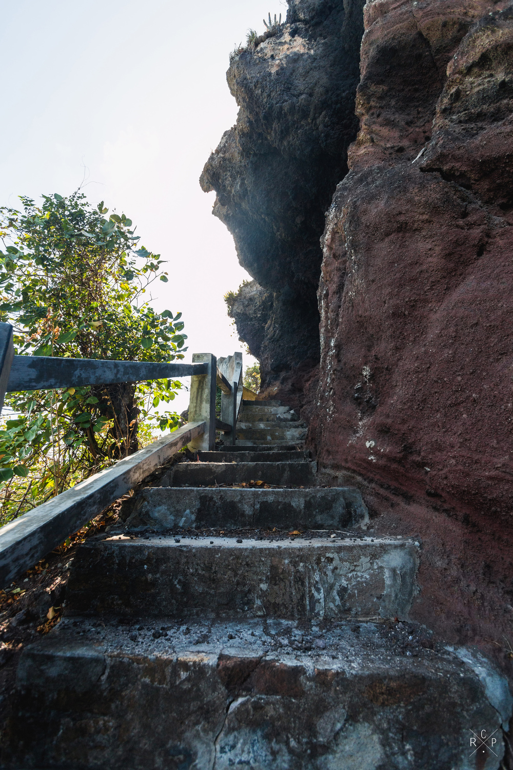 Ascending Stairs 2 - Fort Duvernette, St. Vincent & The Grenadines 09/02/2016