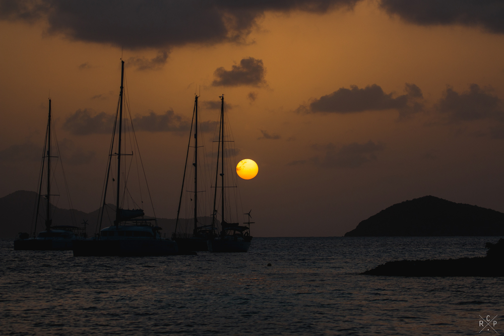 Tobago Cays Sunset 1 - Tobago Cays, St. Vincent & The Grenadines 13/02/2016