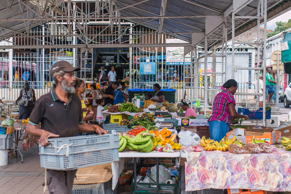 Farmers Market - Saint Pierre, Martinique 06/03/2016
