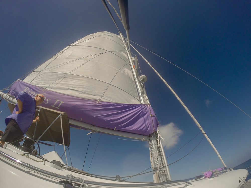 Main Sail - Caribbean Sea 07/03/2016