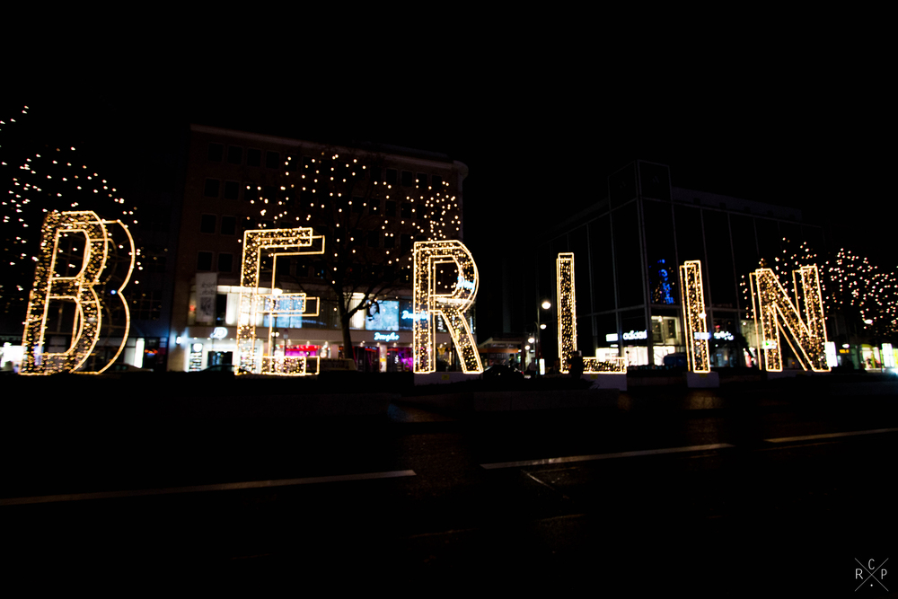 Berlin Light Sign - Berlin, Germany 01/12/2015