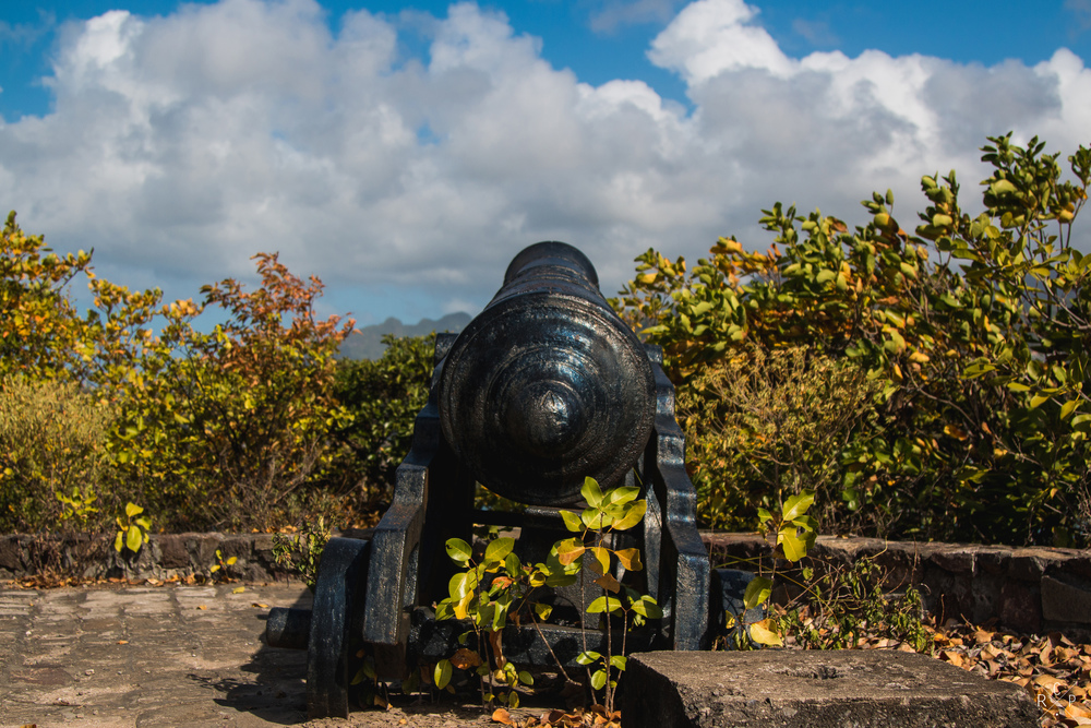 Cannon 1 - Fort Duvernette, St. Vincent & The Grenadines 09/02/2016