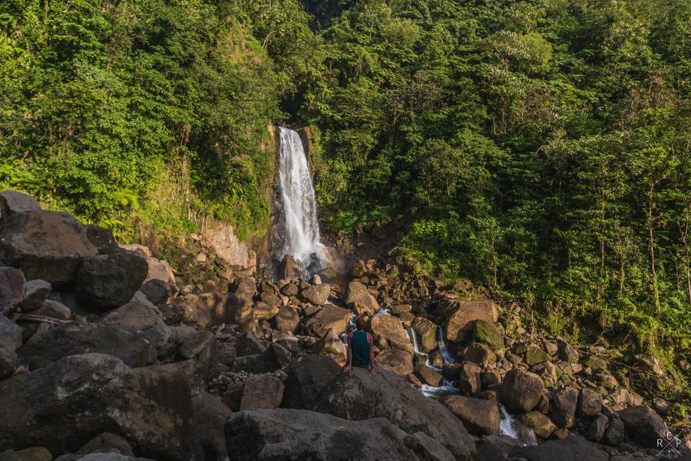 Me & Son Falls - Trafalgar Falls, Dominica 07/03/2016