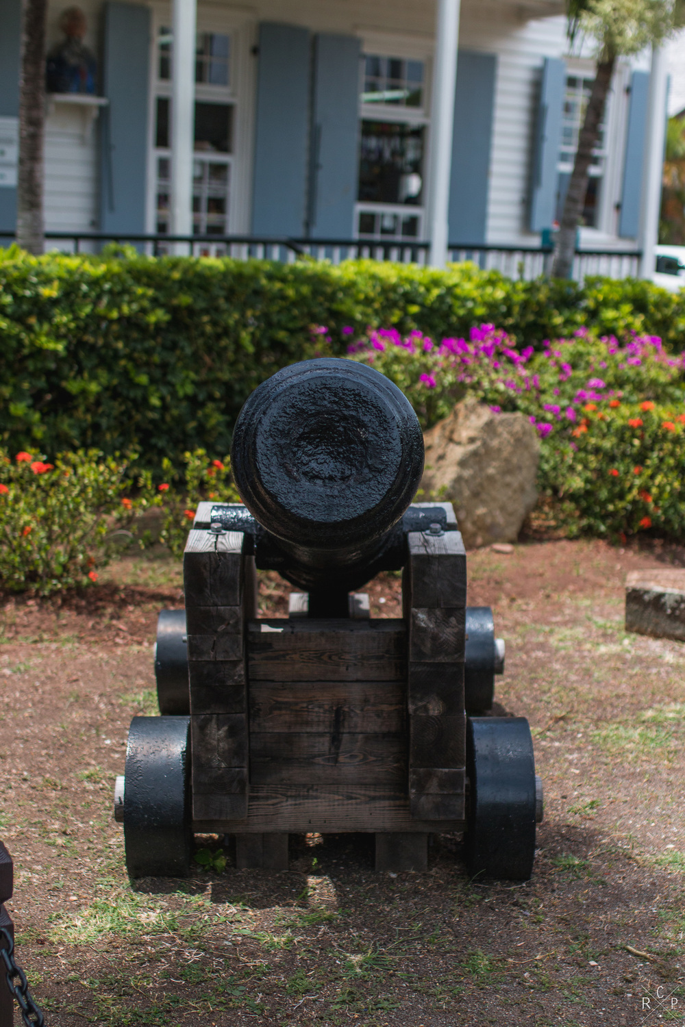 Cannon 1 - Nelson's Dockyard, English Harbour, Antigua - 01/04/2016