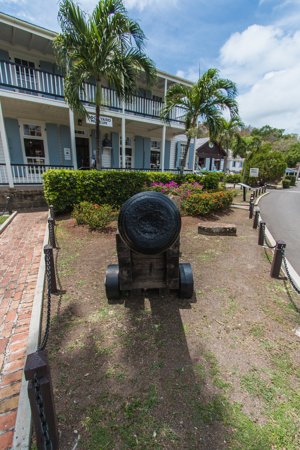 Cannon 3 - Nelson's Dockyard, English Harbour,Antigua 01/04/2016