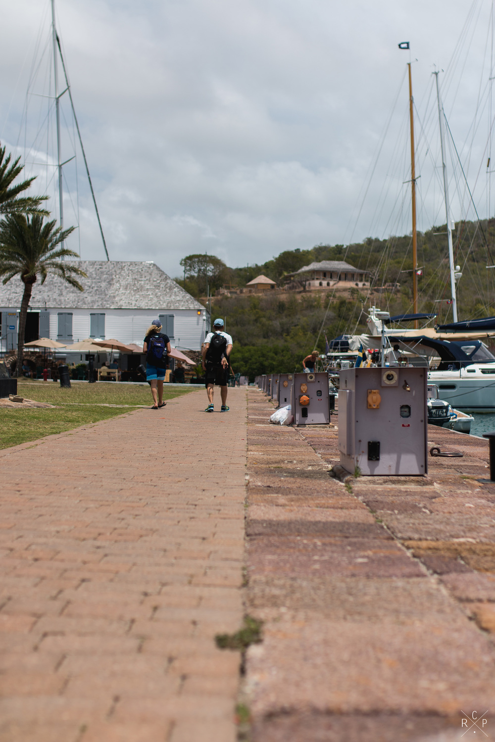 Harbour Front - Nelson's Dockyard, English Harbour,Antigua 01/04/2016