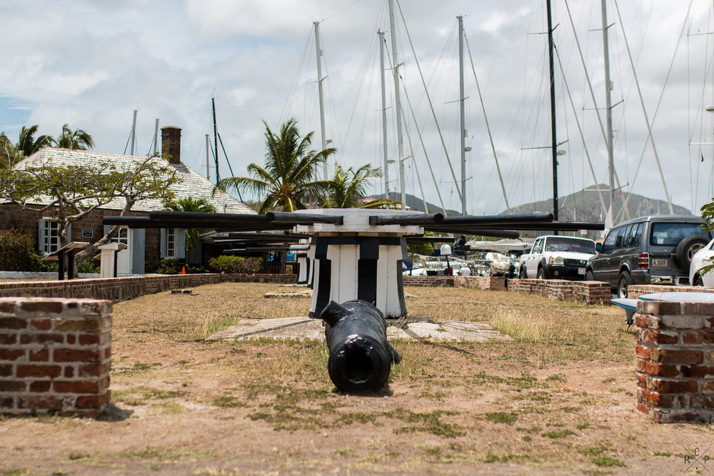 Capstans & Cannon - Nelson's Dockyard, English Harbour,Antigua 01/04/2016