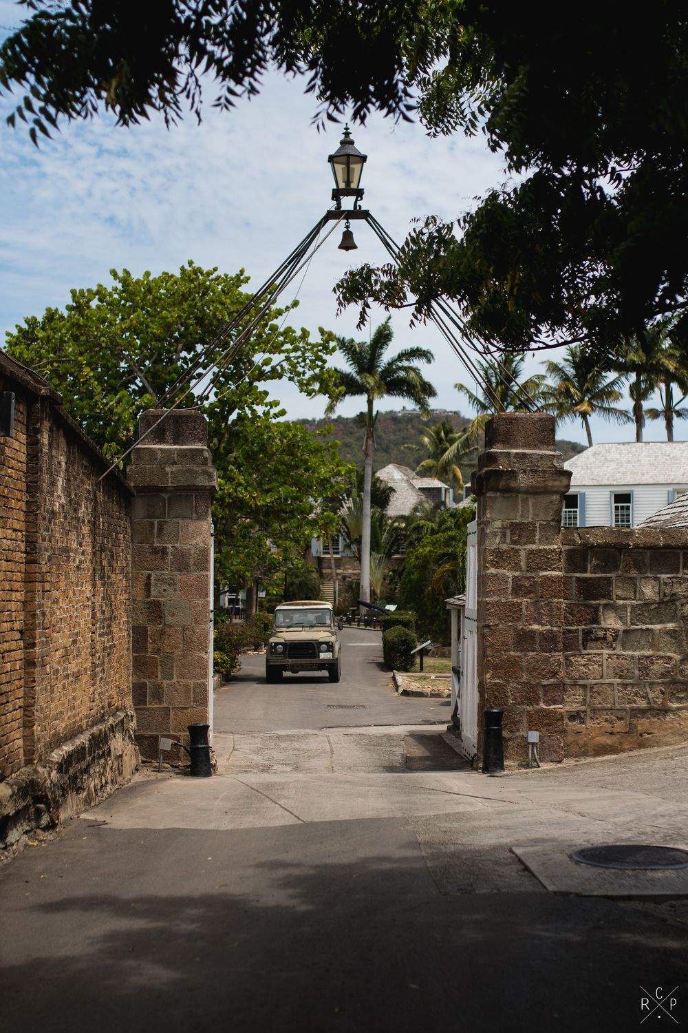 Entranceway - Nelson's Dockyard, English Harbour, Antigua 01/04/2016