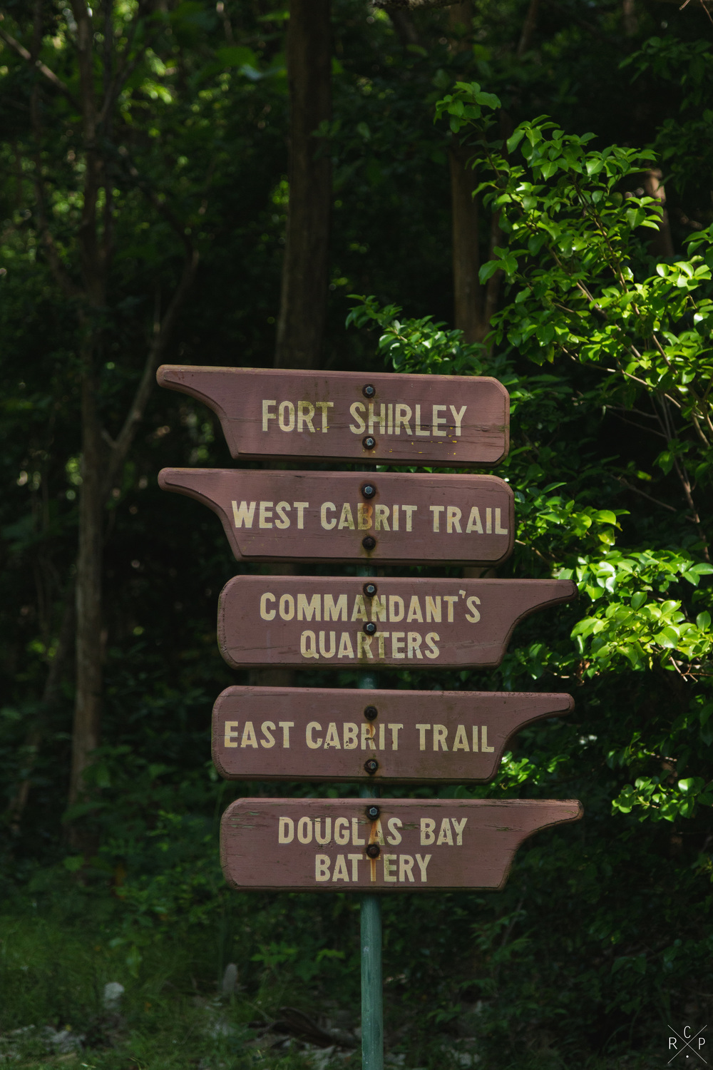 Trail Head - Fort Shirley, Portsmouth, Dominica 17/04/2016